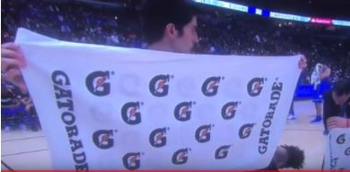 Gatorade duke towel